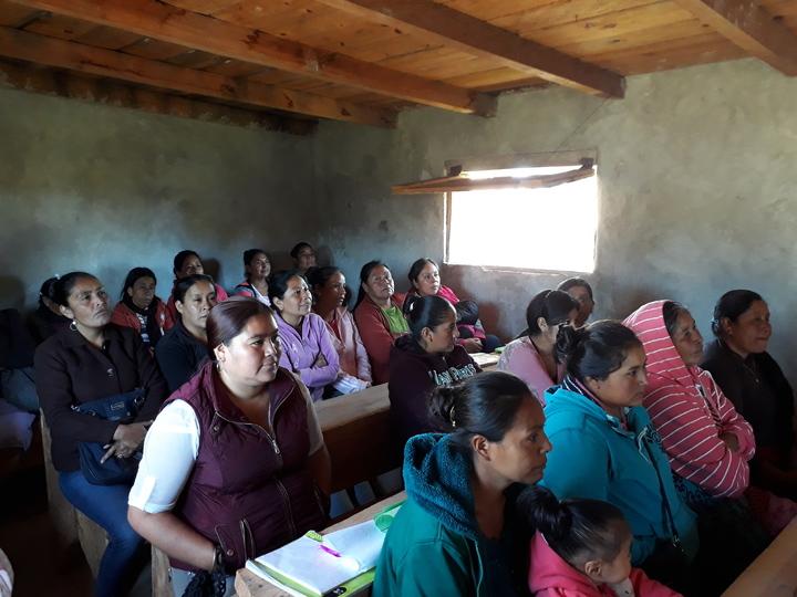Promueven prevención de la violencia contra mujeres indígenas en Mezquital, México