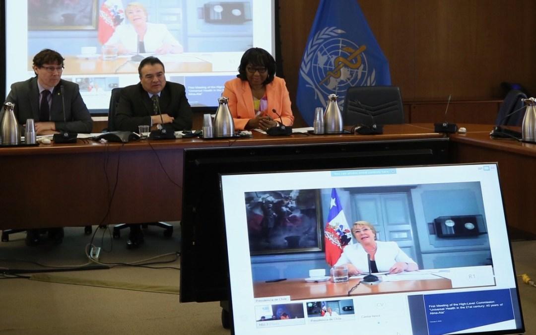 OPS instaura una Comisión de Alto Nivel para garantizar el acceso universal a la salud