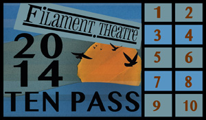 Filament Theatre, Ten Pass, Chicago, Theater, Portage Park, Milwaukee Ave.