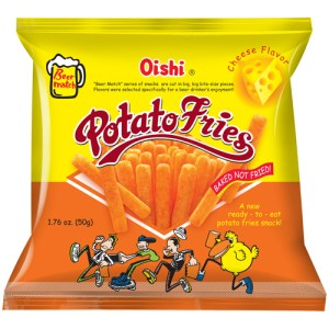 Oishi Potato Fries - Cheese