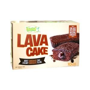 Lemon Square Lava Cake Bars