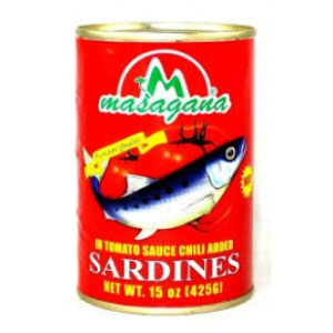 Sardines in Tomato Sauce with Chili