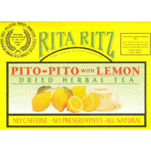 Pito-Pito Tea with Lemon