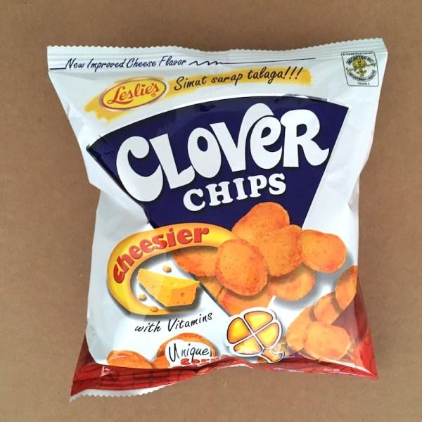 Leslie's Clover Chips Cheesier!