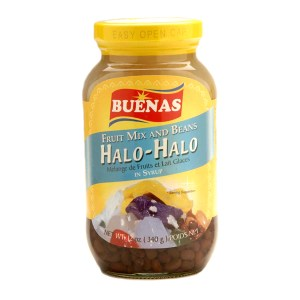 Halo-Halo Ingredients in a Jar