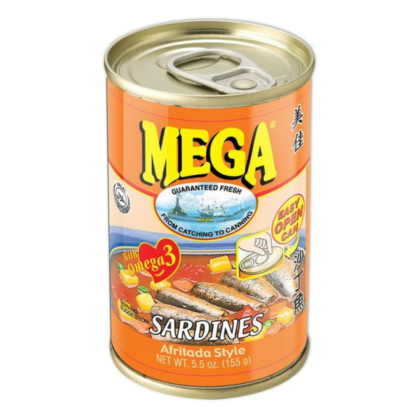 Canned Sardines Apritada Flavor