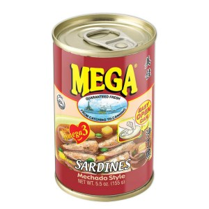 Canned Sardines Filipino Mechado Flavor