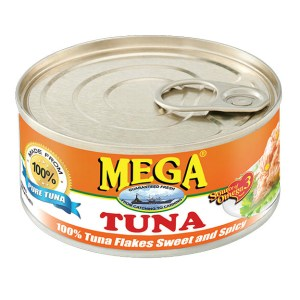 Canned Tuna Flakes: Sweet & Spicy