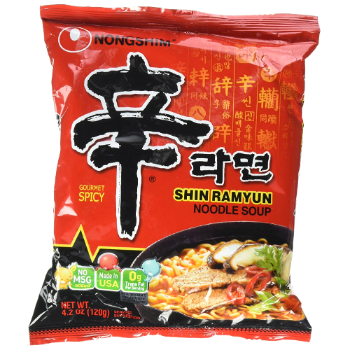 Shin Ramyun (Korean Spicy Noodles)
