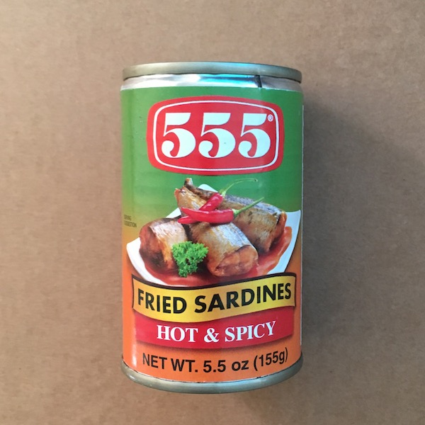 555 Fried Sardines Hot & Spicy