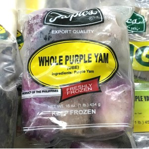 Frozen Purple Yam