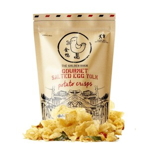 Salted Egg Potato Crisps