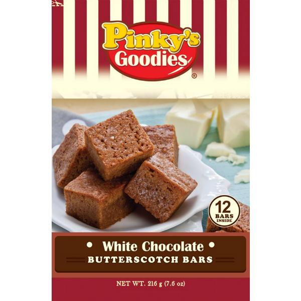 White Choco Butterscotch Bars