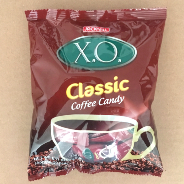 X.O. coffee candies