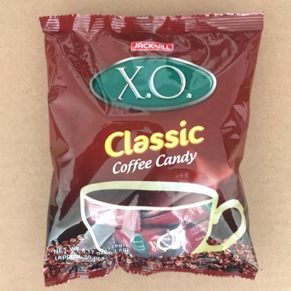 X.O. coffee candies