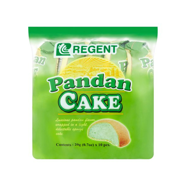 10-pack of pandan cakes