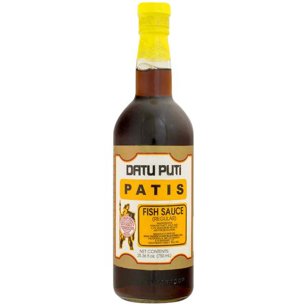Datu Puti brand of Fish Sauce