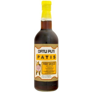 Datu Puti brand of Fish Sauce