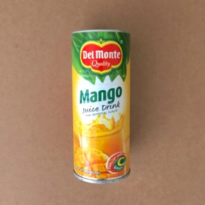 Canned Mango Juice Drink