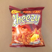 Spicy Cheesy Corn Crunch Snack
