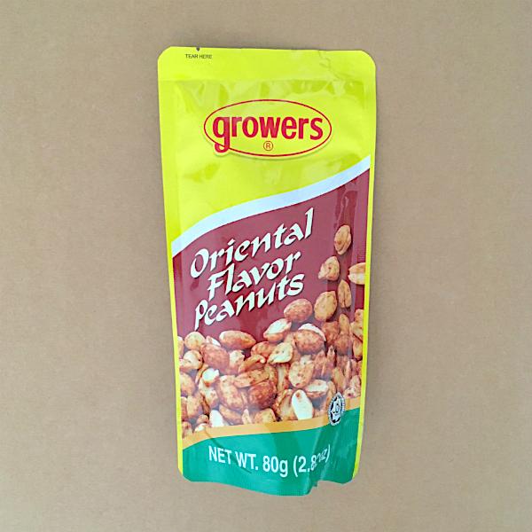 Oriental-Style Peanuts