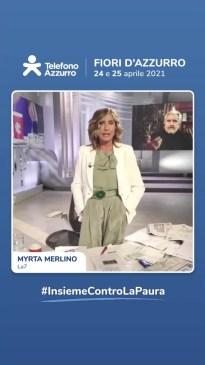 video messaggio Myrta Merlino