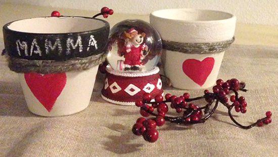 Capodanno • lavoretti • lavoretti bambini • natale. Lavoretti Di Natale Vasetti Portacandele
