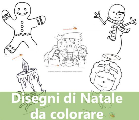 Le migliori immagini di natale da colorare. Disegni Di Natale Da Colorare Per Bambini Filastrocche It