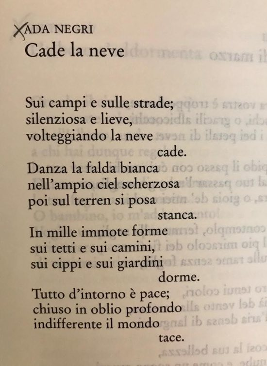 Le Più Belle Poesie Di Ada Negri Poesie Dautore Su