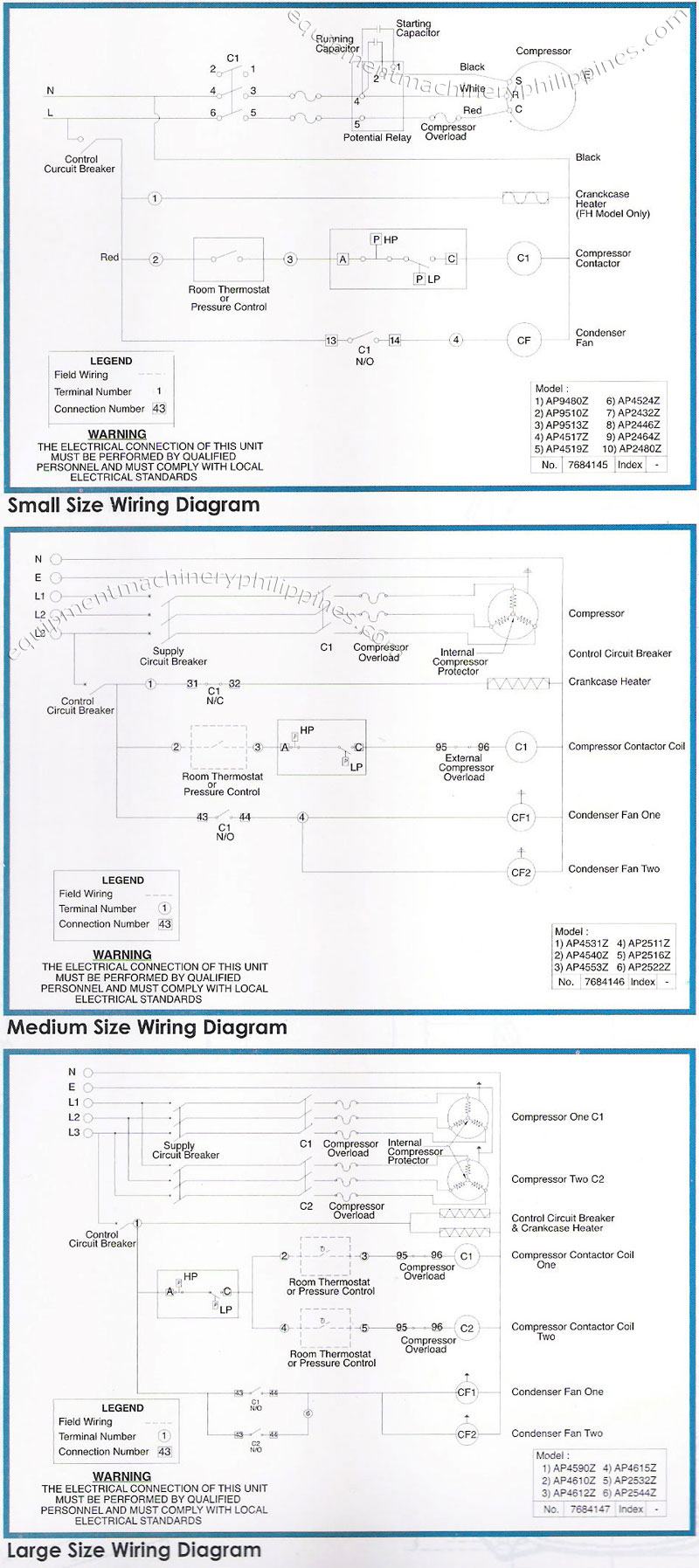 hight resolution of tecumseh packaged refrigeration condensing unit wiring diagram