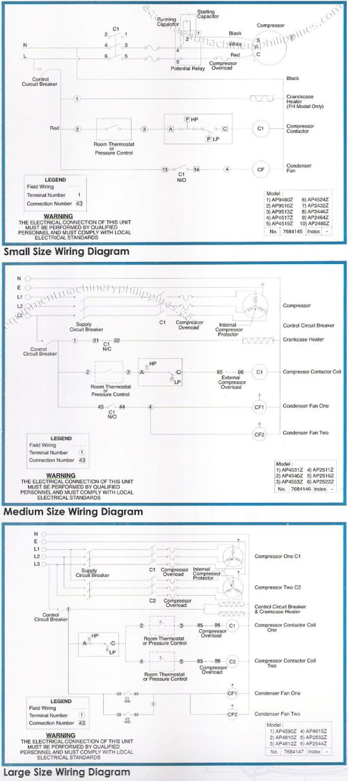 small resolution of tecumseh packaged refrigeration condensing unit wiring diagram