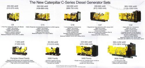 small resolution of caterpillar c series diesel generator sets