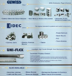 Gewiss Compact Miniature Circuit Breaker, NonMetallic Boxes and Enclosures, Industrial Plugs