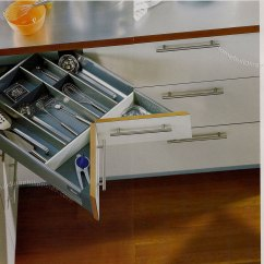 Pull Out Kitchen Cabinets Cheap Backsplash Ideas Space Corner For In The