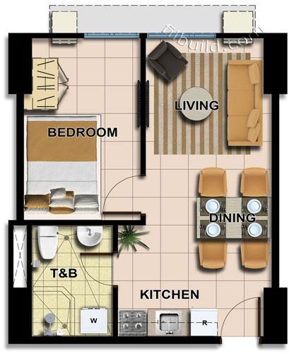 1 Bedroom Apartment Near Me