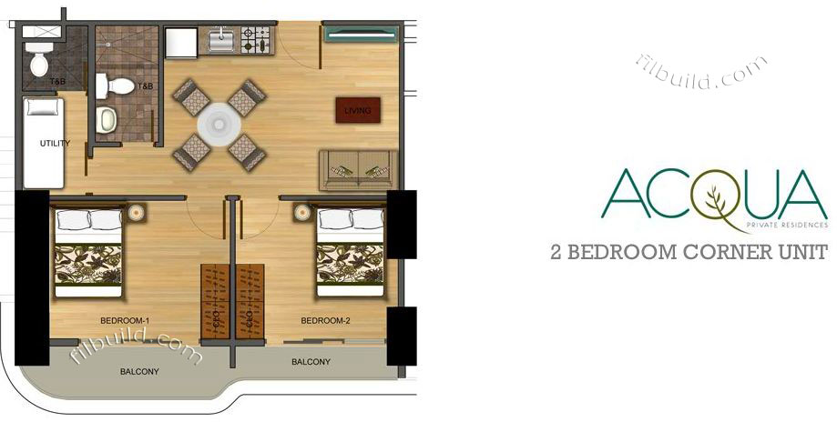 Condo Sale At Acqua Private Residences Condominiums Floor