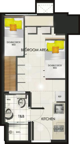 Condo Sale at Sun Residences Condominiums Unit Floor Plans