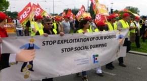 EUROPA, INIZIATIVA DEI SINDACATI CONTRO SFRUTTAMENTO E DUMPING SOCIALE
