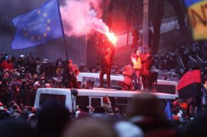 Kiev Ucraina Grushevskogo st._Kiev_19.01.2014_1