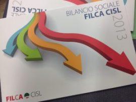 Copertina Bilancio Sociale 2013 Filca Cisl nazionale