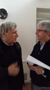 Don Luigi Ciotti e Salvatore Scelfo