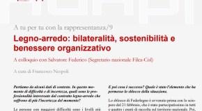 RINNOVO CONTRATTO LEGNO ARREDO, SU ADAPT INTERVISTA A SALVATORE FEDERICO