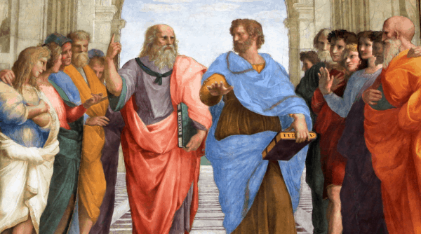 Platón y Aristóteles en