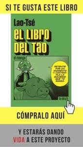 El libro del Tao, de Lao-Tsé, en versión manga (la otra h).