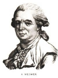 Retrato de Franz Anton Mesmer.