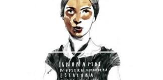 La poeta Emily Dickinson en versión de Paula Bonet. La ilustradora regaló este archivo al mundo con motivo de la huelga de mujeres del 8 de marzo de 2018. www.paulabonet.com