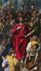 """""""El expolio de Cristo"""", de El Greco, se encuentra en la catedral de Toledo."""