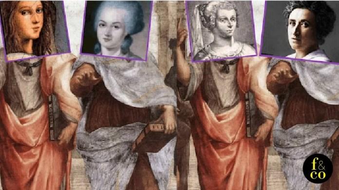 Platón y Aristóteles ocupaban los posiciones centrales de la