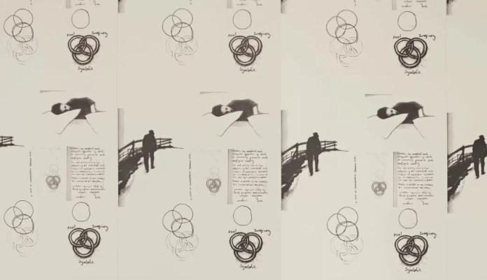 Jacques Lacan Wallpaper, 2013. Colección particular. El siquiatra y sicoanalista francés Jacques Lacan es uno de los autores que