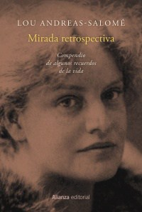 """Portada completa de """"Mirada retrospectiva"""", de Lou Andreas-Salomé, publicado por Alianza Editorial."""